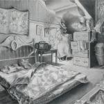 Bedroom of a Self-Indulgent Hippo