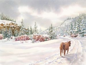 Saunter a Snowy Path, 2009