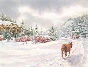 Saunter a Snowy Path, 2009