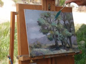 Plein Air Painting at Claytonia Ranch