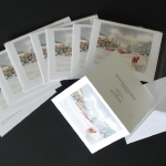 Saunter a Snowy Path - Greeting Cards