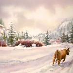Winter, Color Visual
